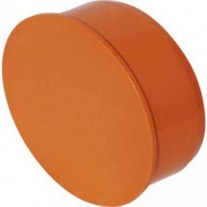 PVC End Cap 110 mm
