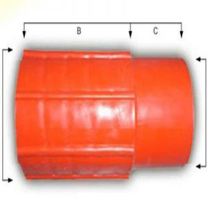 HDPE-CD Connector , MH / HH, for 110 mm HDPE-CD
